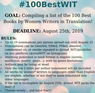 100 Best Women Writers in Translation