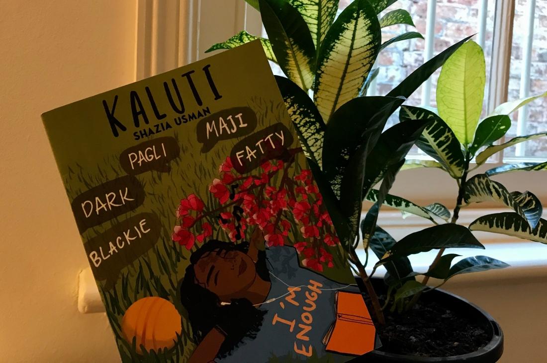 kaluti book and plant